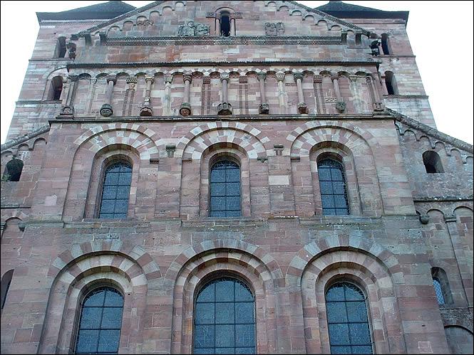 La façade de Murbach