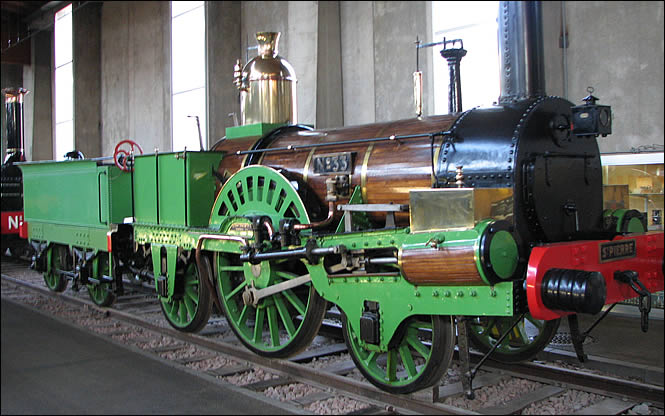 Locomotive Saint Pierre Buddicom